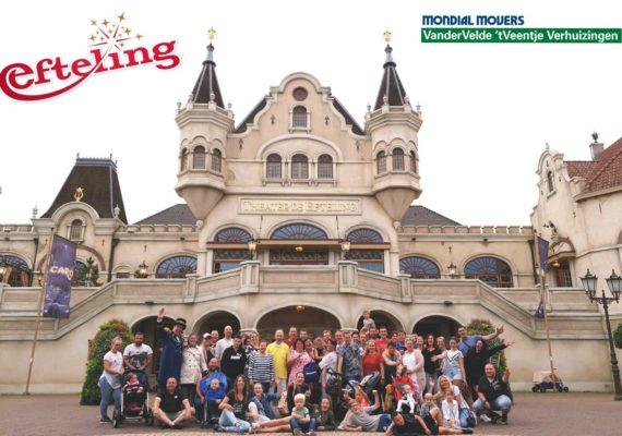 Echte familiedag voor personeel Mondial Van der Velde 't Veentje Verhuizingen