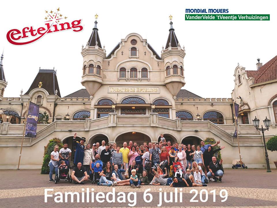 Van Der Velde 't Veentje Familiedag Efteling