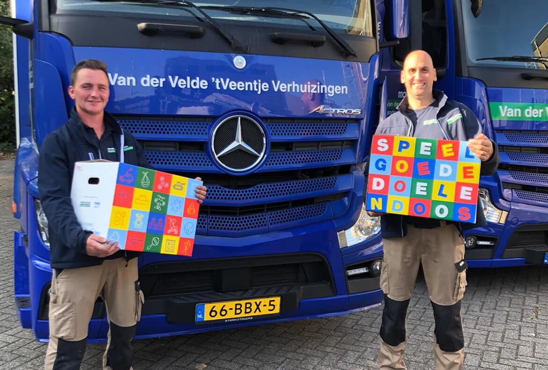 Mondial Movers Foundation lanceert Speelgoededoelendoos