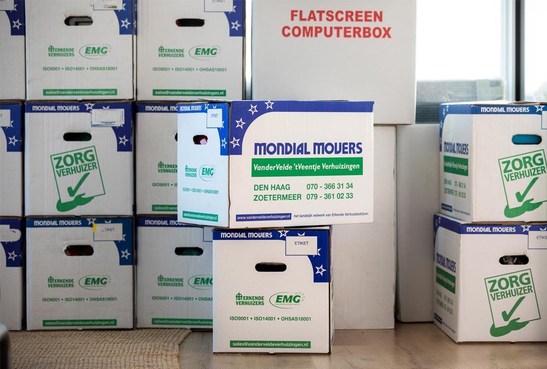 Verhuisdozen inpakken met onze tips!