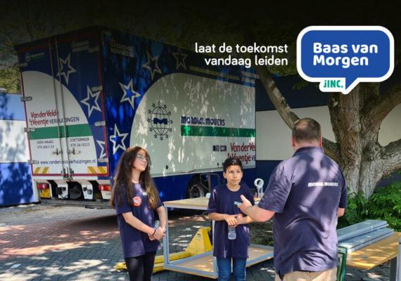 Mondial Van der Velde Verhuizingen neemt deel aan project 'Baas van Morgen'